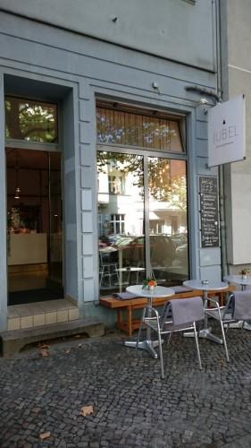 Jubel Berlin feine Pâtisserie Außen