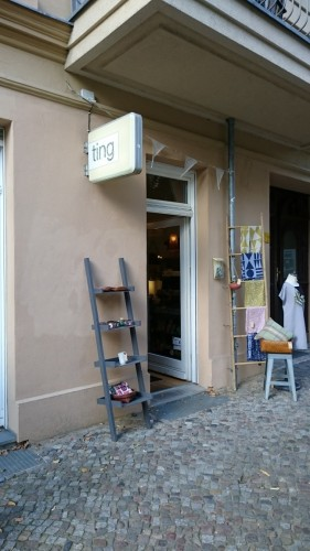 Ting Shop Berlin Rykestraße Außen