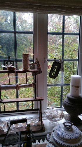 Villa Viola Living Fensterausblick
