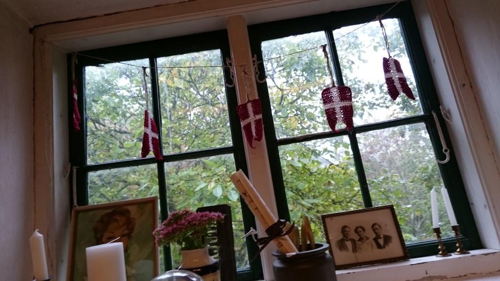 Villa Viola Living Fenster Dannebrog