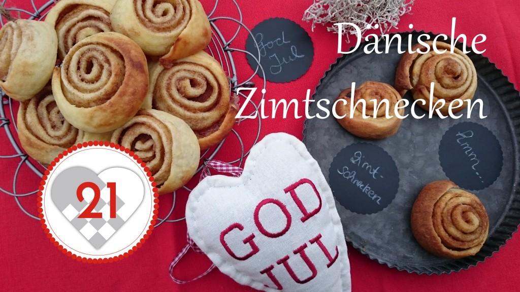 Dänische Zimtschnecken Titelbild