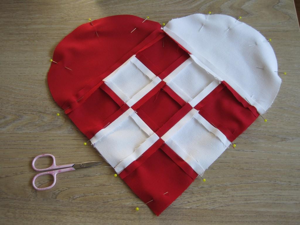 Dänemark wo das Glück wohnt Nähanleitung für ein Julehjerte17.JPG