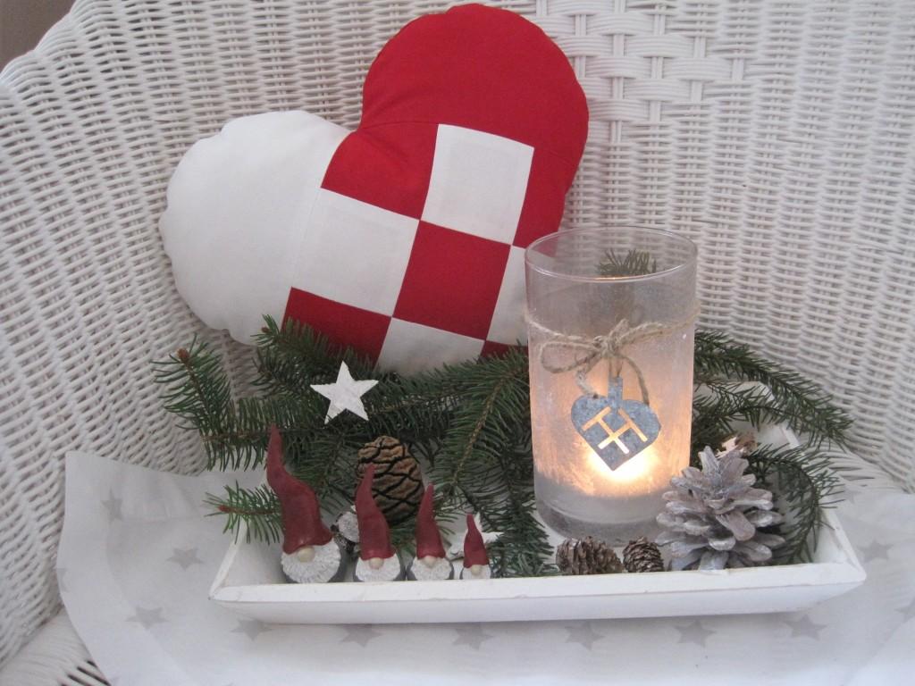Dänemark wo das Glück wohnt Nähanleitung für ein Julehjerte23.JPG