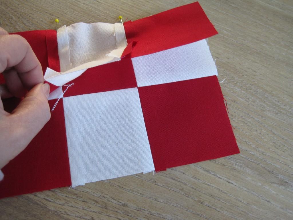 Dänemark wo das Glück wohnt Nähanleitung für ein Julehjerte7.JPG