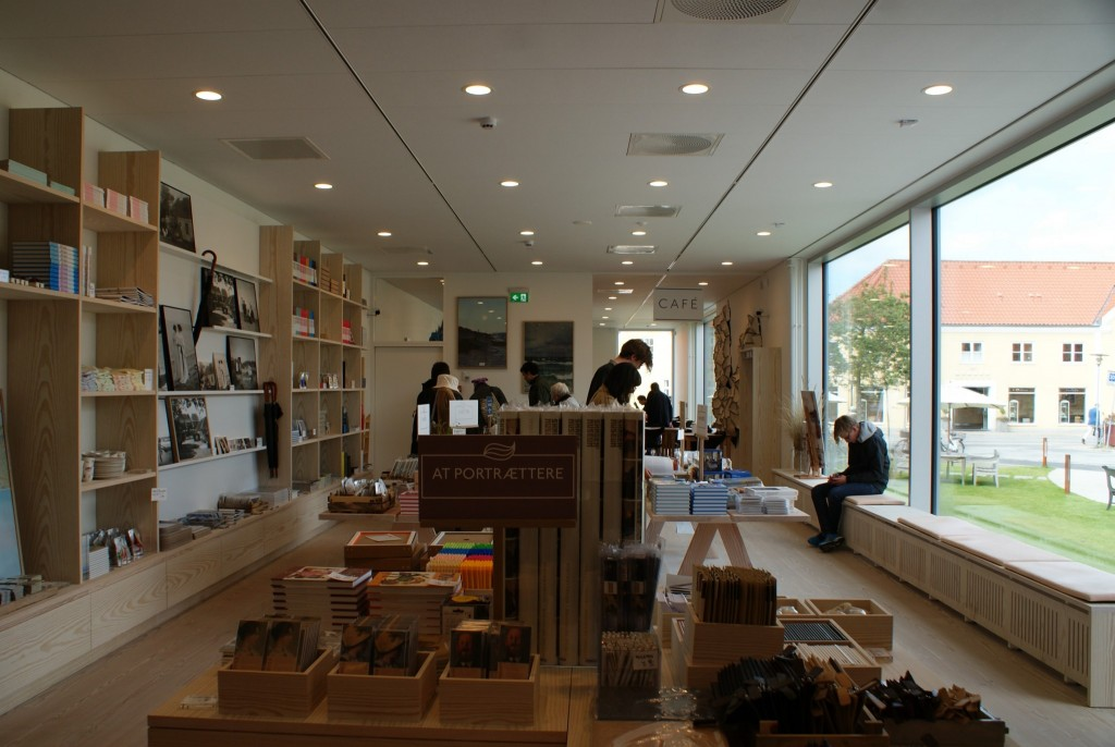 neuer Museumsshop