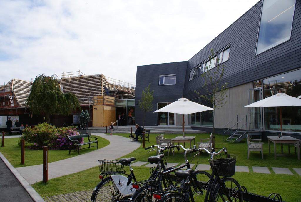 "Skagen Museum ""ursprüngl."" Teil im Umbau und Neubau"