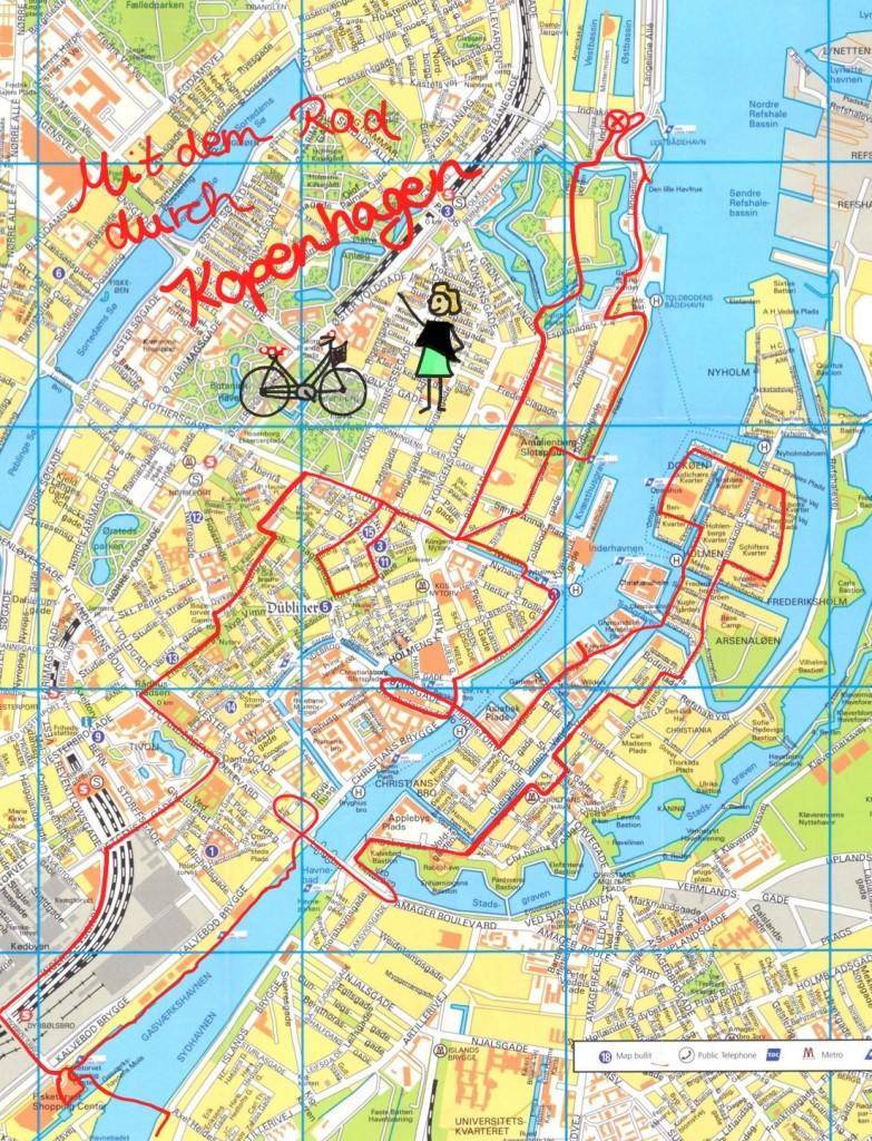 Radtour durch Kopenhagen