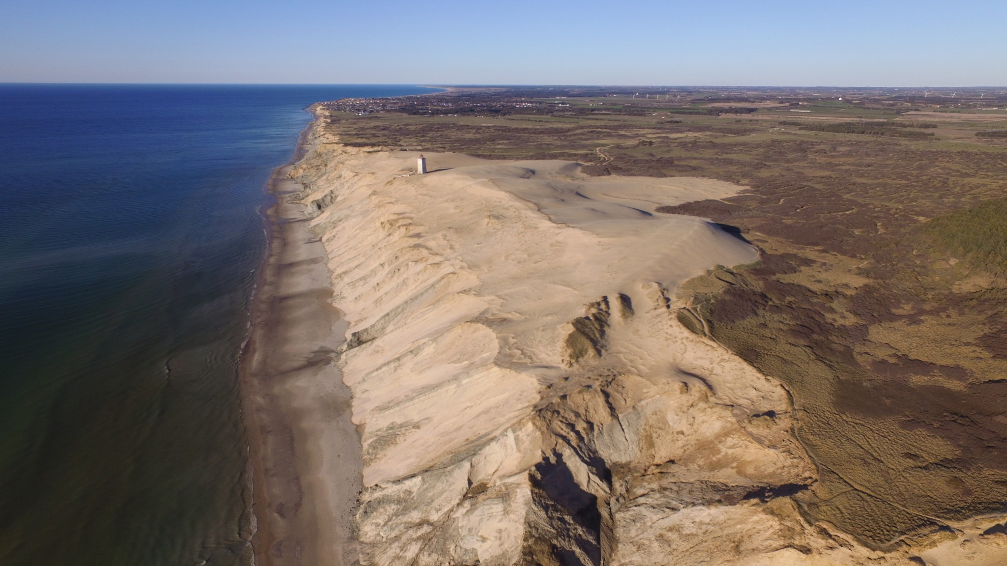 Dänemark von oben