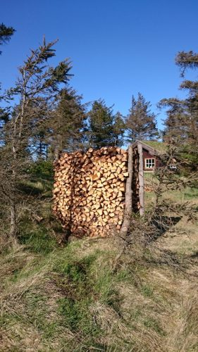 Dänemark wo das Glück wohnt Lille Norge Sti 100 Saltum