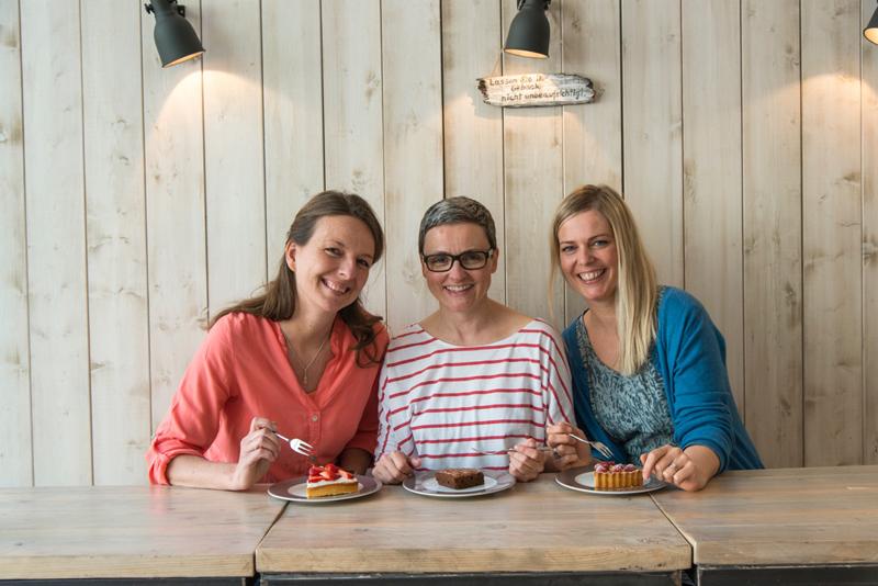 Jana, Meike und Ulrike
