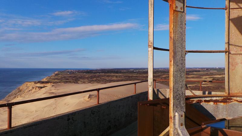 Dänemark wo das Glück wohnt Leuchtturm Rubjerg Knude