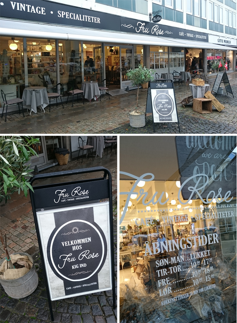 Dänemark wo das Glück wohnt Blog Shoppingtipp Fru Rose Roskilde