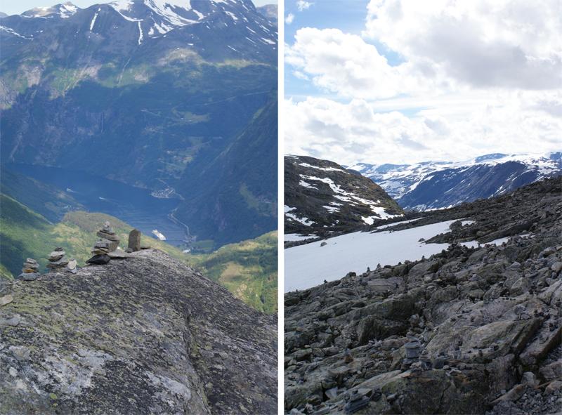 Auf dem Berg Dalsnibba